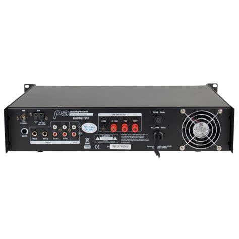 Mixer Li Yamaha le combo130 d audiophony combine lificateur mixer