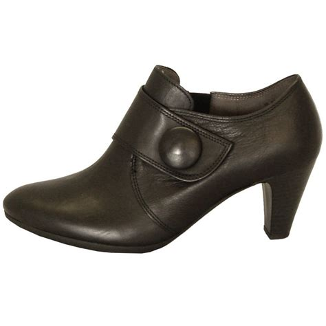 high cut shoes for gabor shoes enola womens high cut shoe in black mozimo