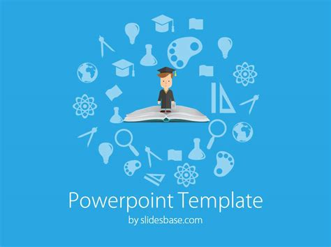 powerpoint template for education education elements powerpoint template slidesbase