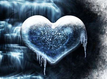 wallpapers of frozen heart frozen heart 3d and cg abstract background wallpapers