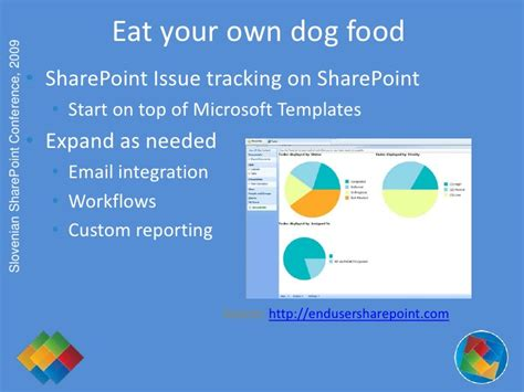 sharepoint issue tracking workflow slovenian sharepoint conference 2009 best practices to