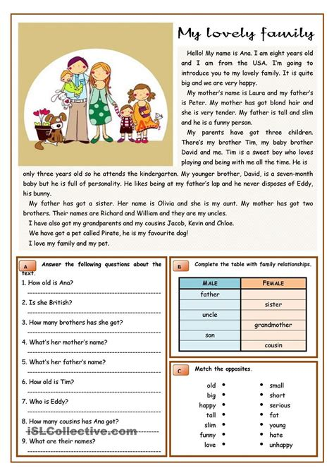 Reading Comprehension Worksheets For Advanced Esl Students by Reading Passages Intermediate Esl Reading Prehension