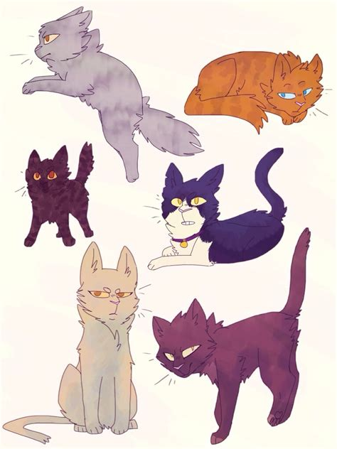 doodle warrior warrior cat doodles by shinotori on deviantart