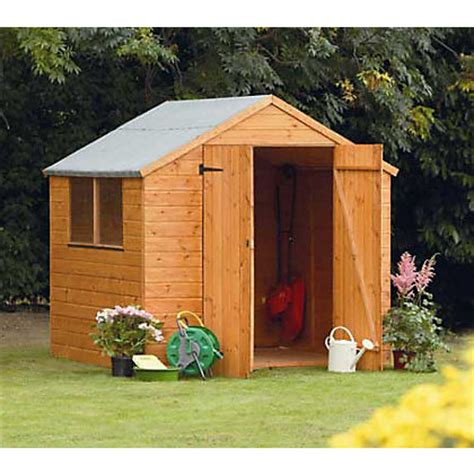 Homebase Sheds by Shiplap Shed 7x7ft At Homebase Be Inspired And Make