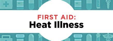 First Aid Heat Illness