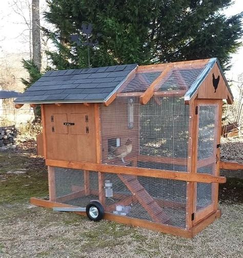 mobile chicken coop portable chicken coop how to make your and make your on