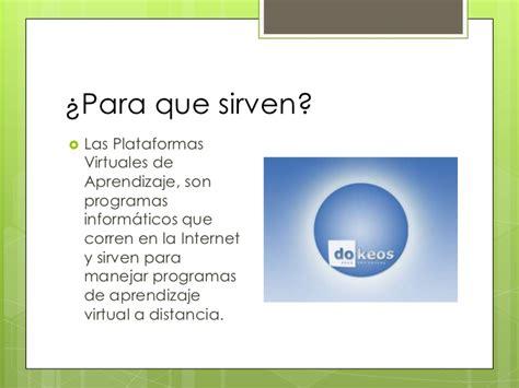 plataforma virtual plataforma virtual de aprendizaje