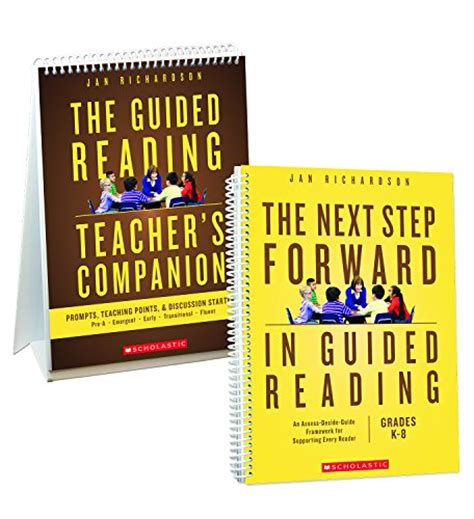 the next step forward in guided reading an assess decide guide framework for supporting every reader buy jan richardson books buy books net