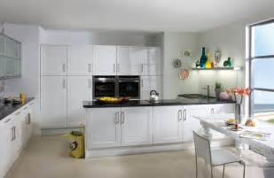 lovely Painting Gloss Kitchen Cabinets #3: White-Gloss-Shaker-Kitchen.jpg