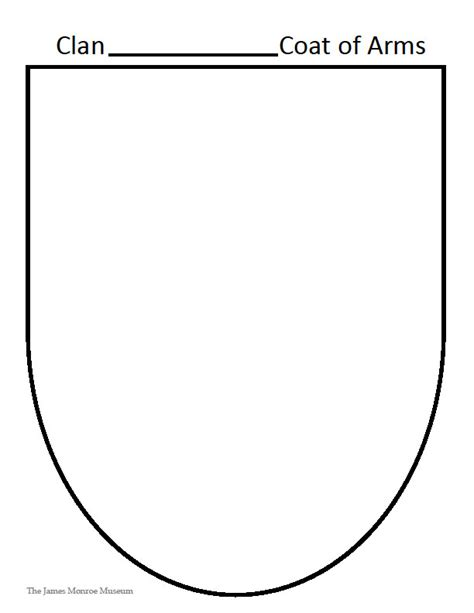 make your own coat of arms template make your own coat of arms template 28 images 23