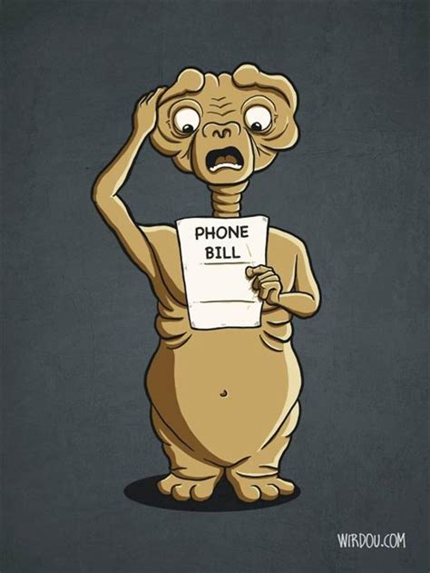 et call home phone bill dump a day