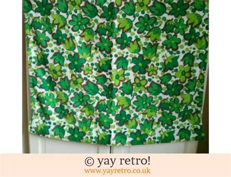 a curtain of green sparknotes vintage fruity curtain material vintage shop retro