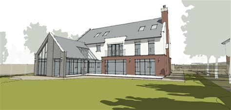 home design websites uk new bespoke family house in northtonshire leaf architecture