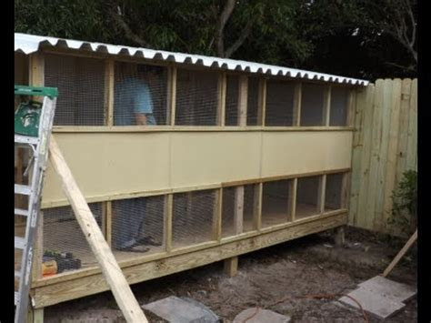 i want to build a home how to build a pigeon breeding loft in 8 hours youtube