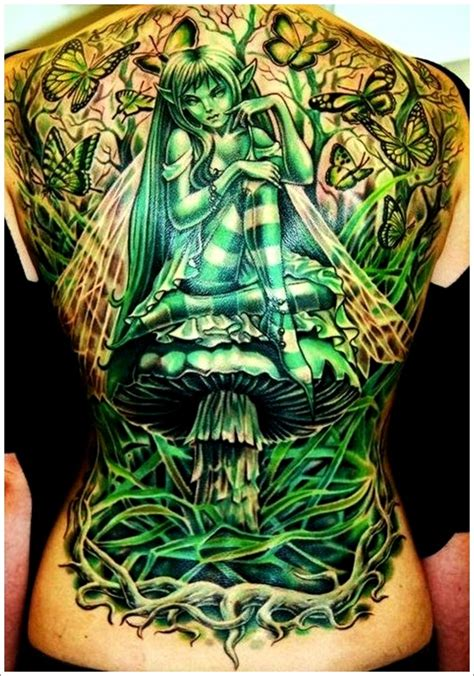 fairy tattoos for men 40 and designs for and