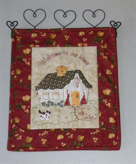 How To Make A Quilt Wall Hanging by Val Laird Designs Journey Of A Stitcher Wall Quilts And