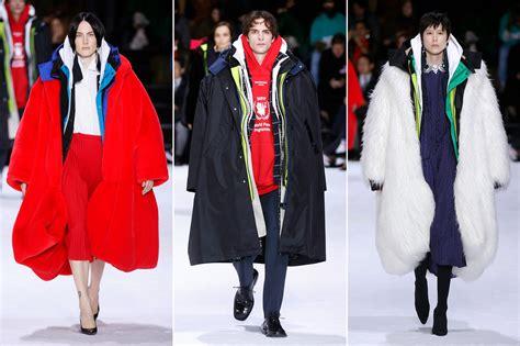 large coats big jacket fashion trend inspires memes joey balenciaga time