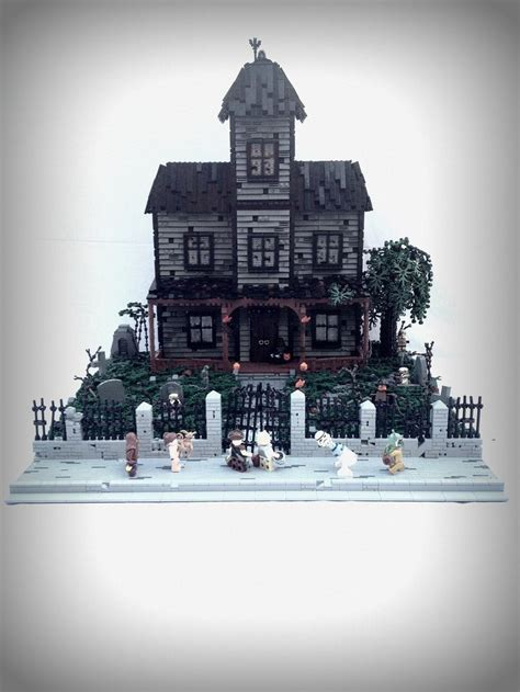 lego haunted house lego haunted house lego pinterest