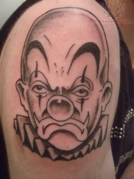 joker face tattoo joker