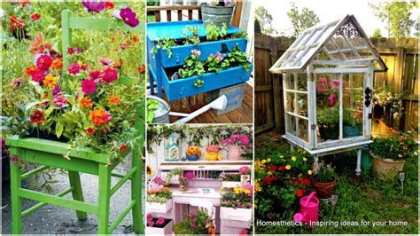 Upcycled Garden Ideas 50 Extremely Ingenious Crafts And Diy Projects That Are Recycling Repurposing Upcycling Tin Cans