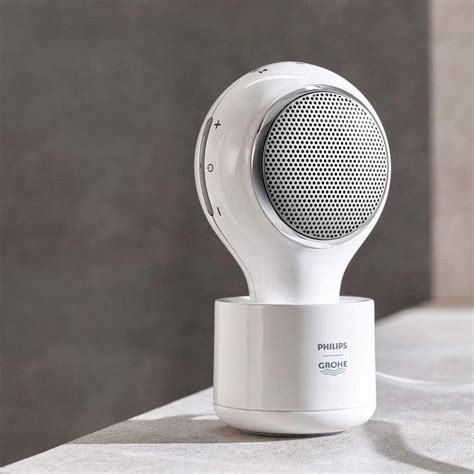 bathroom speaker bluetooth philips grohe aquatunes bluetooth wireless shower
