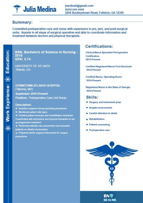 sle new grad rn resume simple resume template