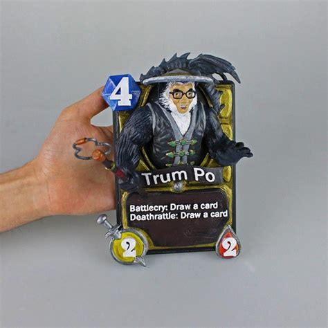 printable hearthstone card list 3d printable hearthstone card trum po by 3dna