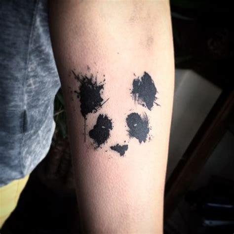 tattoo panda geometrico les 27 meilleures images du tableau tatouage panda sur