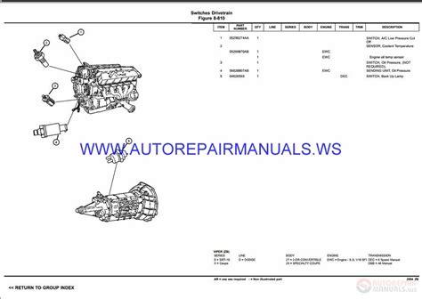 download car manuals 2001 dodge viper spare parts catalogs chrysler dodge viper zb parts catalog part 2 2003 2008 auto repair manual forum heavy