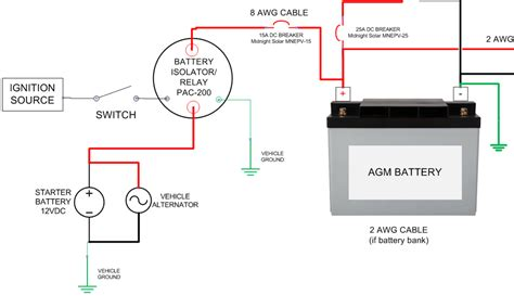 wiring diagram for alternator to battery 40 wiring