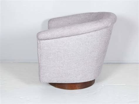 bathtub swivel chair mid century swivel tub chair at 1stdibs