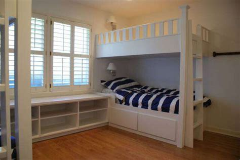 built in bunk beds custom built in bunk beds contemporary bunk beds
