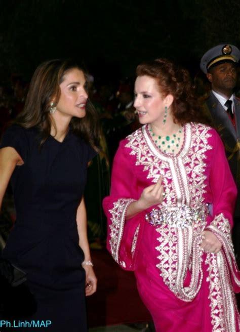 Zahira Dress Bd rania with princess lalla salma of morocco made in