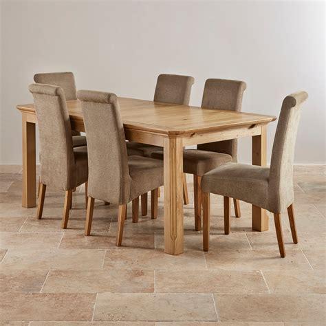 edinburgh extending dining table in oak oak furniture edinburgh 6ft extending oak dining table 6 plain chairs