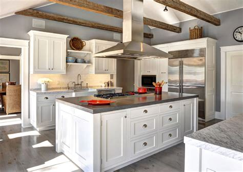 white dove kitchen cabinets ranch cottage with transitional coastal interiors home