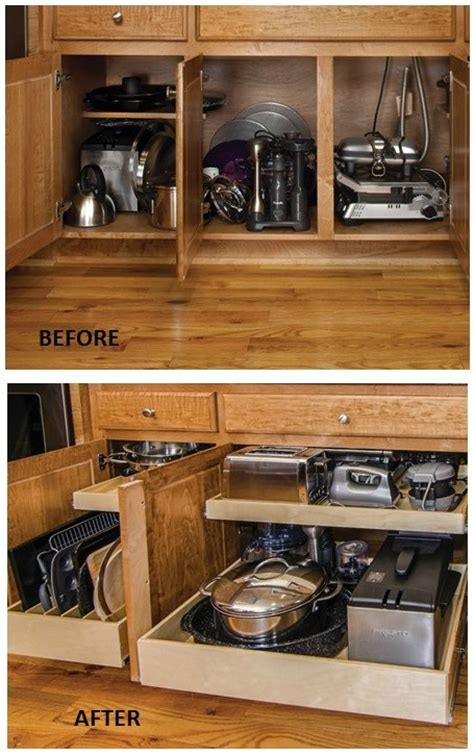 kitchen cabinet space saver ideas remodelaholic convenient and space saving cabinet