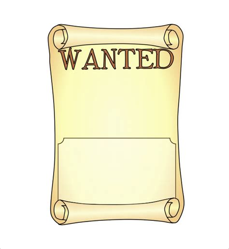 blank templates for posters 15 blank wanted poster templates free printable sle