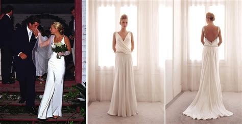 carolyn bessette kennedy wedding 5 modern day wedding dresses inspired by 20th century