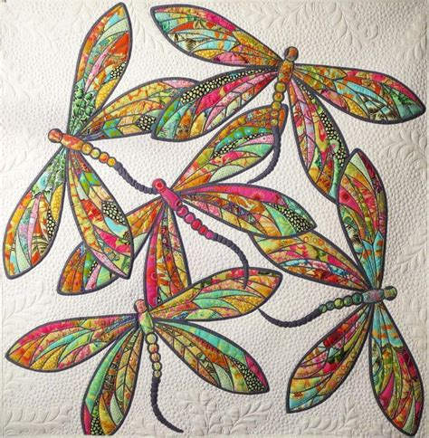 Dragonfly Quilts by The Modern Dragonfly Quilt By Pahasapa220292 Craftsy