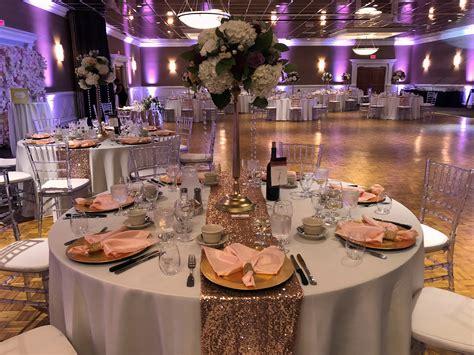 burgundy blush wedding reception fairhaven ma