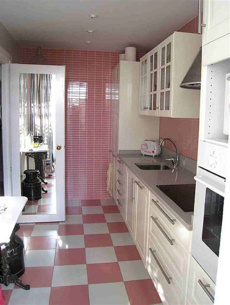 pink and white kitchen home decor interior exterior