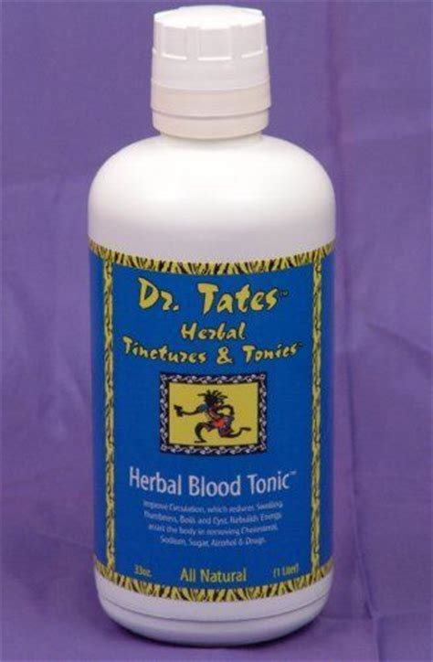 Dr Tates Detox by Dr Tates Herbal Blood Tonic The Total All Blood