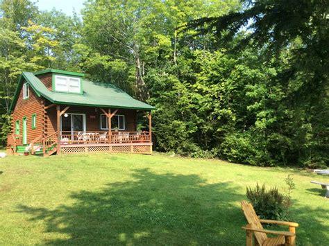 3br 2ba log cabin on big indian lake homeaway albans
