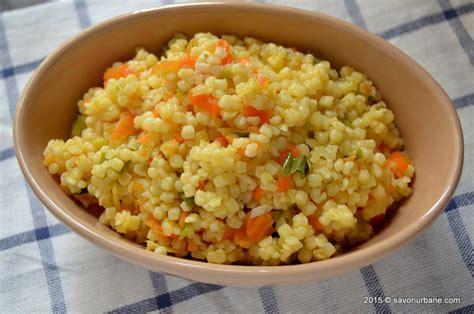 Cuscus cu legume - tarhana | Savori Urbane