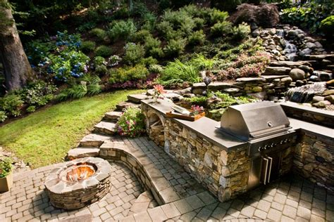 Outdoor Pits And Fireplaces by 13 Pits And Fireplaces In Outdoor Kitchens Hgtv