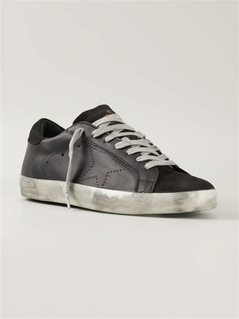 golden goose deluxe brand sneakers in black