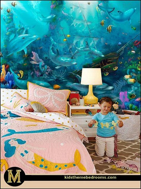 dolphins bedroom ideas and murals on