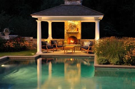 outdoor inspiration stunning design ideas for fireplaces