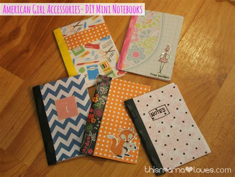 composition doll supplies american accessories notebooks this
