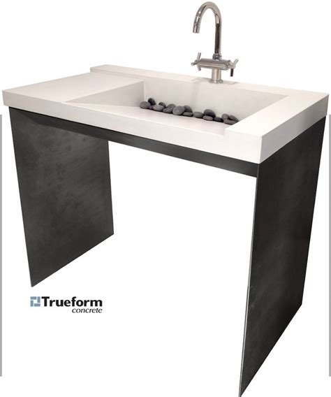 Ada Sinks And Vanities by Ada Compliant Sink Concrete On A Steel Base Could Be For Indoor Outdoor Bathroom Wheelchair